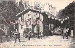 69 - Lyon - Funiculaire De La Croix Rousse - Gare Croix Pâquet - Lyon
