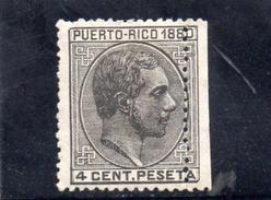 PUERTO RICO 1880 * - Puerto Rico