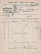 61 LA FERTE-MACE FRANCIS RENUT TISSAGE MECANIQUE - Frankrijk