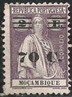 Mozambique Moçambique 1931 Ceres Surcharged MH - Stamps