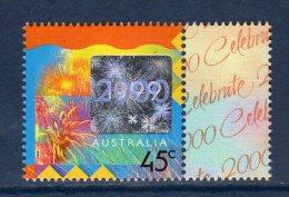 AUSTRALIE Australia 1999 Célébration An 2000 Yv 1784 Hologramme MNH ** - Hologrammes