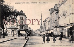 69 - Villefranche Sur Saone - Rue D'Anse - Villefranche-sur-Saone