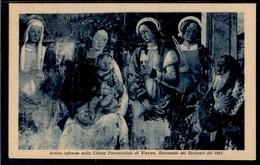 Varzo - Antico Affresco Nella Chiesa Parrocchiale - Viaggiata 1925 - Rif. 13428 - Altre Città