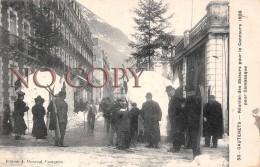65 - Cauterets - Réunion Des Skieurs Pour Le Concours 1908 Pour Cambasque - Cauterets