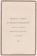 Magdeleine Et Elisabeth De MOUGINS ROQUEFORT, Communion, 1909, SAN REMO (Italie). ETIENNE AZAMBRE - Communion