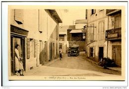 BTE 66 Osséja, Rue Des Pyrénées, Boutique De L´éditeur Viladach - Autres Communes