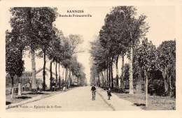 95 - VAL D OISE / Sannois - Route De Franconville - - Sannois
