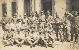 - Gironde -ref-C171- Carte Photo Medeville - Begles - Militaires - Caserne - Casernes - Regiment - Regiments - Militaria - France