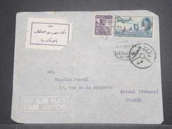 EGYPTE - Enveloppe De Alexandrie En 195.. Pour La France , Affranchissement Plaisant - L 8732 - Covers & Documents