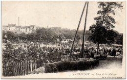 71 LE CREUSOT - Place De La Molette   (Recto/Verso) - Le Creusot
