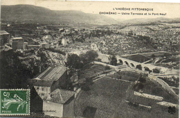 CHOMERAC  Usine Terrasse Et Le Pont Neuf Recto Verso - Frankreich