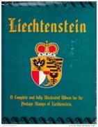 Liechtenstein 1912-66 Cancelled Collection, Minkus Album & Pages, Sc# See Notes - Liechtenstein