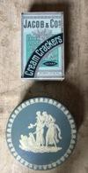 2 Grandi SCATOLE Latta Vintage : JACOB & Co Cream Crackers E BISCOTTI DANISH - Scatole/Bauli