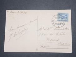 VATICAN - Carte Postale Pour La France En 1929 , Affranchissement Plaisant - L 8740 - Lettres & Documents