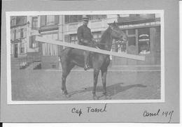 1915 Flandres Flandern Cassel Le Capitaine Tassel De L'état Major Du GAN Groupe D'armées Du Nord 1 Photo Ww1 1914-1918 - Guerre, Militaire