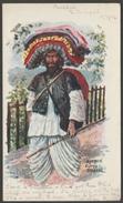 Ethnic - Afghan Cloth Seller, Bengal, India, 1906 - U/B Postcard - India