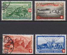 Schweiz 1944 MiNr. 431 - 434 O Gest. Pro Patria ( 2231 ) Günstige Versandkosten - Switzerland