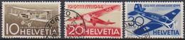 Schweiz 1944 MiNr. 435 - 437 O Gest. Flugpostmarken ( 2234 ) Günstige Versandkosten - Switzerland