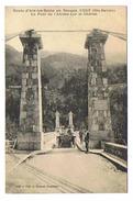 CPA 74 CUSY Le Pont De L'Abime Sur Le Cheran - Otros Municipios