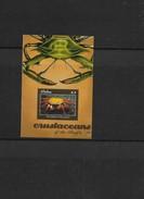 O) 2011 PALAU, CRAB-SALLY LIGHTFOOT GRAPSUS-CRUSTACEAN OF THE PACIFIC, SOUVNEIR MNH - Palau