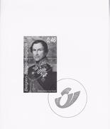 Zwart-Wit Velletje Koning Leopold 1 - Zwarte/witte Blaadjes