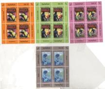 Chiudilettere Diabolik DIK 13 Al 15 Raffigurano Le Copertine Del Fumetto Noir + DIV 01 - Etichette Di Fantasia