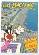 1997, Rimini - Riviera Adriatica. Cartoon. - Rimini