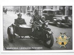 Motorcycle Sokol Poland / Warsaw  3   Armoured Batalion   / / Poland Army 1918-39 / Reproduction - Motos