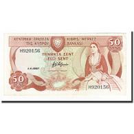 Chypre, 50 Cents, KM:52, 1987-04-01, TTB+ - Chypre