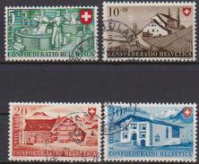 Schweiz 1946 MiNr. 471 - 474 O Gest. Pro Patria ( 2272 ) Günstige Versandkosten - Switzerland