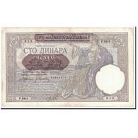 Serbie, 100 Dinara, 1941, KM:23, 1941-05-01, TTB+ - Serbie