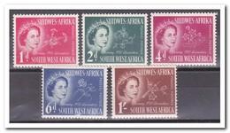 SWA Zuid West Afrika 1953, Postfris MNH, Queen, Flowers - Postzegels