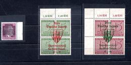 9069 Deutschland, Germany, Alliierte Bes. Sowj. Zone, Nichtamtl. Ausg. Döbeln Nr. 1,2,3, Mnh - Zone Soviétique