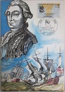 Carte Postale - FDC - Suffren Navigateurs - Bateaux - YT 2518 - St Cannat - Bequet - Cartes-Maximum