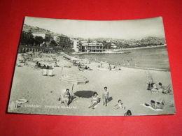 Cartolina Sanremo - Spiaggia Morgana 1950 - Imperia