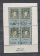 IRLANDA - 1972 -  50 Years Stamps S/s - Mi. B1 - Yv. B1 Usato - Blocchi & Foglietti