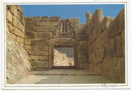 1993, Micene - La Porta Dei Leoni. - Grecia