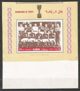 AJMAN - MNH - Sport - Soccer - Proof - Fútbol