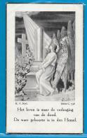 Bidprentje Van René Schoeters - Larum-Geel - Geel - 1927 - 1938 - Images Religieuses