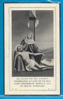 Bidprentje Van Barbara-Francisca Maelfeyt - Klemskerke - Bredene - 1841 - 1944 - Images Religieuses
