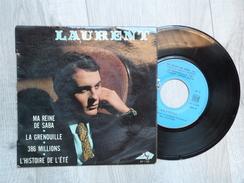 LAURENT . MA REINE DE SABA. LA GRENOUILLE. 386 MILLIONS. L'HISTOIRE DE L'ETE. - Vinyl Records