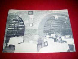 "Cartolina Roma - Ristorante Valle ""La Biblioteca"" 1950 - Roma"