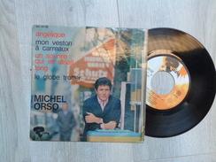 MICHEL ORSO. ANGELIQUE. MON VESTON A CARREAUX. UN SOURIRE QUI EN DISAIT LONG. LE GLOBE TROTTER - Vinyl Records