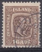 ISLANDIA 1907/1908 Nº 54 USADO - Usati
