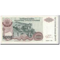 Croatie, 500,000 Dinara, 1993, KM:R23a, SUP - Croatie