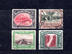 9082 Südwestafrika/Namibia, Mi 157,159,160,162 Gest. - South West Africa (1923-1990)