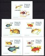 S.Tome 2008 Fishes Imperf. DeLuxe (Glossy Cardboard) MNH - Marine Life