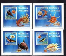 S.Tome 2009 Marine Life Imperf. DeLuxe (Glossy Cardboard) MNH - Marine Life
