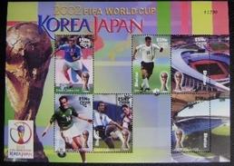 BHUTAN - IVERT 1647/52 NUEVA ** SIN CHARNELA - FUTBOL KOREA 2002 (S079) - Fußball-Weltmeisterschaft