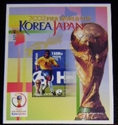 BHUTAN - IVERT H. BLOQUE 423 NUEVA ** SIN CHARNELA - FUTBOL KOREA 2002 (S080) - Fußball-Weltmeisterschaft